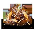 Container für Holz, schadstoffbelastet bestellen