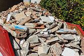Abfallbeispiel für Bauschutt