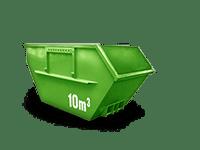 10 cbm Baumischabfall Container