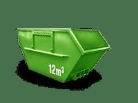 12 cbm Baumischabfall Container