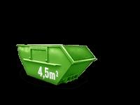 4.5 cbm Baumischabfall Container