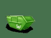 5 cbm Baumischabfall Container