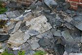Abfallbeispiel für Dachpappe teerhaltig
